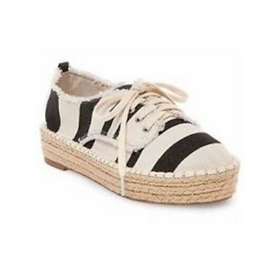 NWT DV BY DOLCE VITA STRIPED ESPADRILLE SHOES
